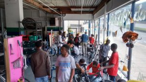 Fix and Learn Public Bike Maintenance Sessions